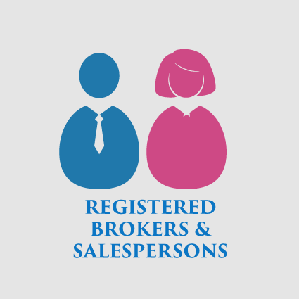 Registered Brokers and Salesperson
